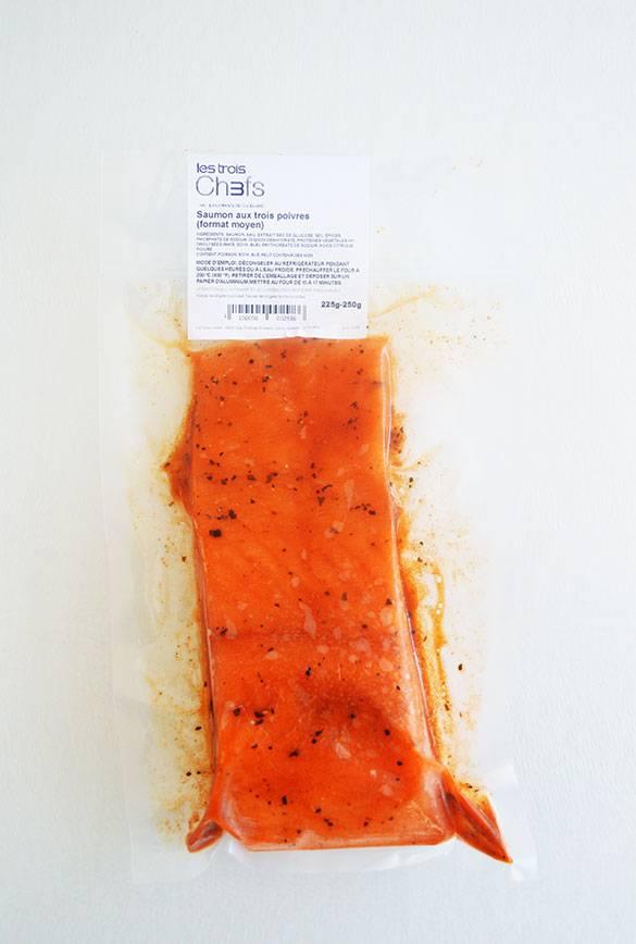 Saumon aux trois poivres (format moyen)