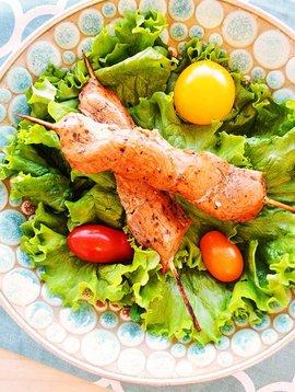 Brochettes de porc souvlaki