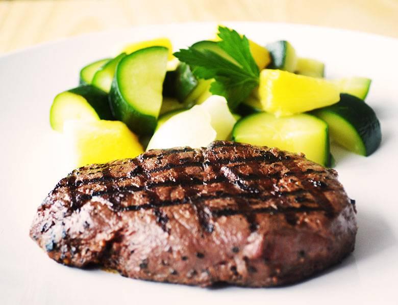 Steak & marinade maison