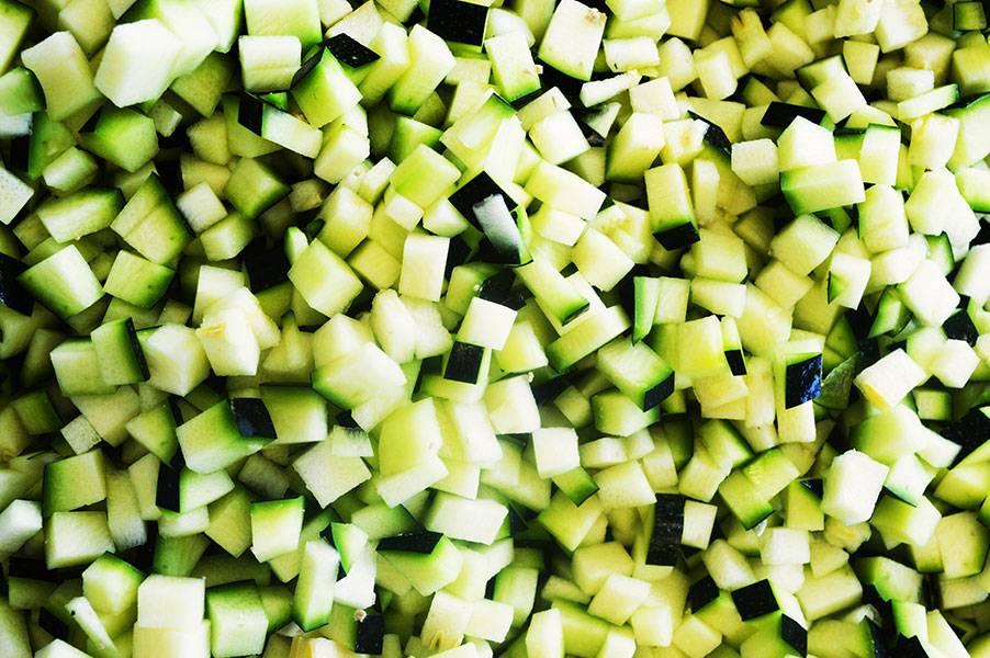 Courgettes vertes