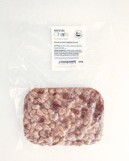 Fèves au lard végétariennes (325 g)