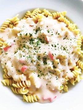 Rotini & sauce alfredo au crabe (325g)
