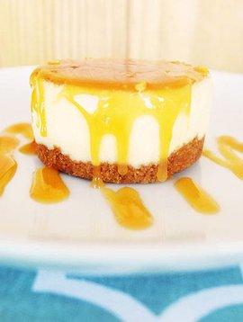 Mignon fromage & caramel salé