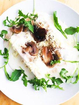 Cannelloni à la crème, boeuf & champignons (325g)