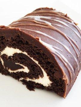 Bûchette double chocolat