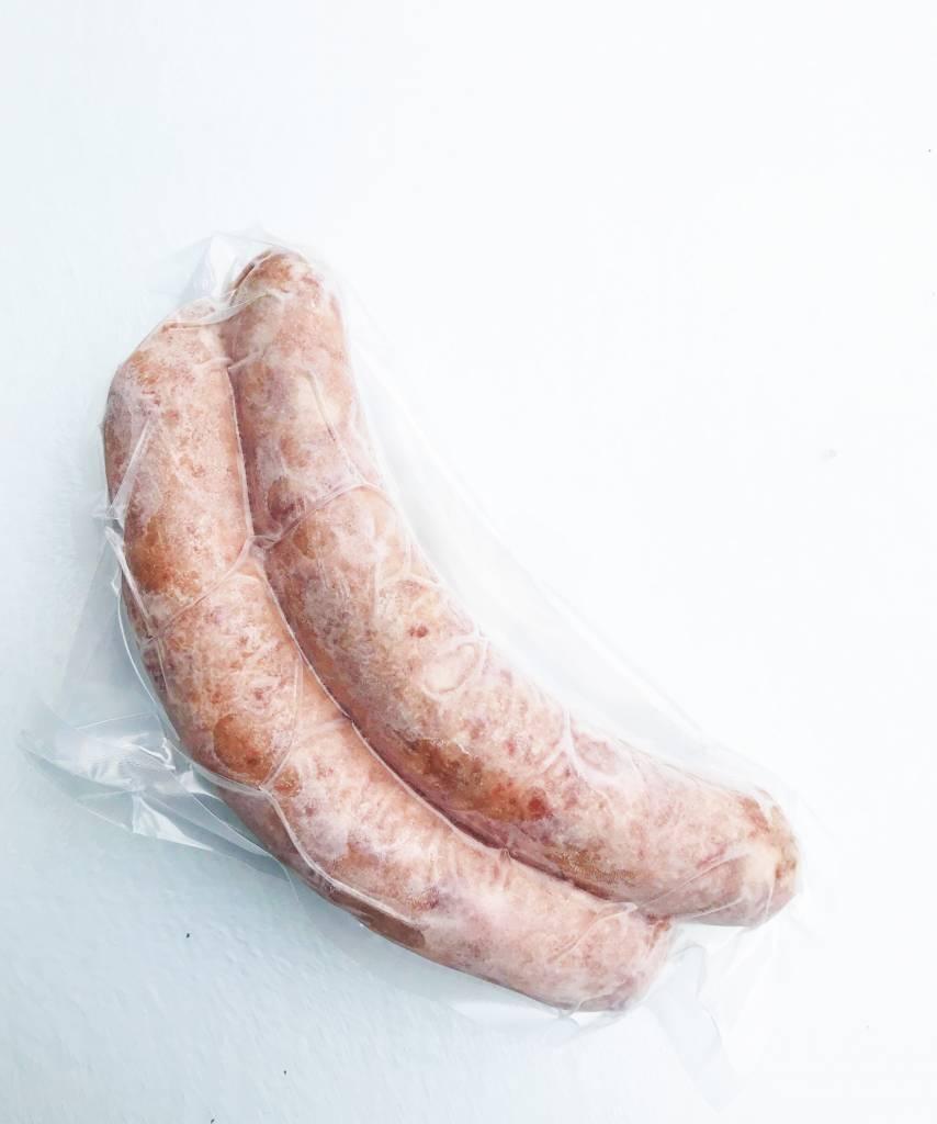 Saucisses bacon & cheddar