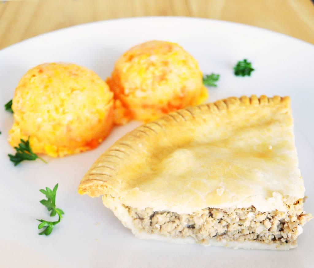 Pâté à la viande & purée trois légumes (325g)