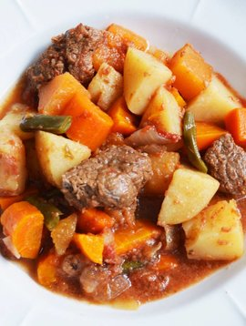 Ragoût de boeuf aux légumes (175 g)