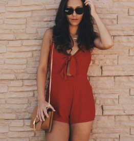 Gameday Bow Romper