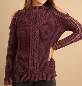 Mulberry Knit Sweater