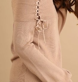 Tie Detail OTS Sweater