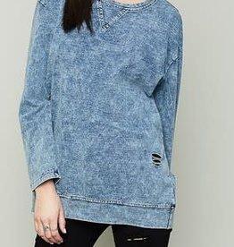 Acid Washed Sweatshirt
