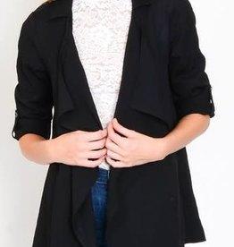 Lulumari Black Waterfall Jacket