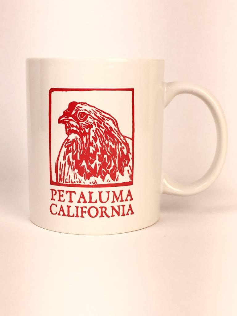 Blockhead Press Petaluma Mug - Blockhead Chicken