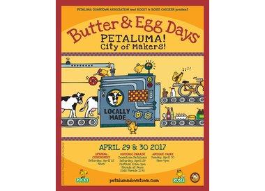 Butter & Egg Days Gear!