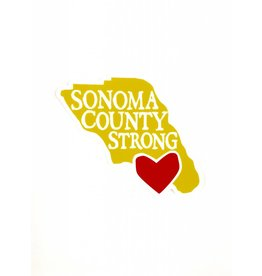 Blockhead Press Sonoma Strong Magnet
