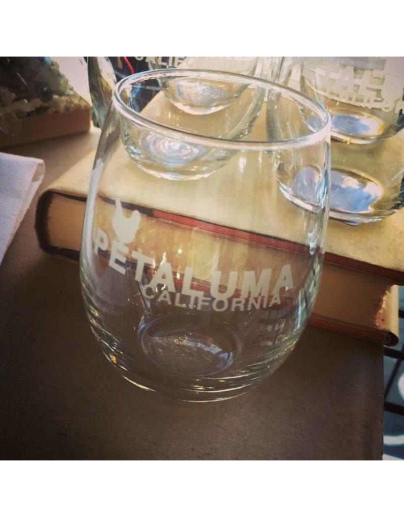 Petaluma Stemless Wine Glass