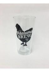 Petaluma Brew Pint Glass