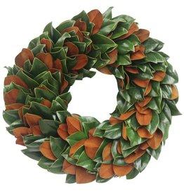 """Classic Magnolia Wreath -18"""""""