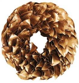 """Magnolia Laquered Wreath - 18"""""""