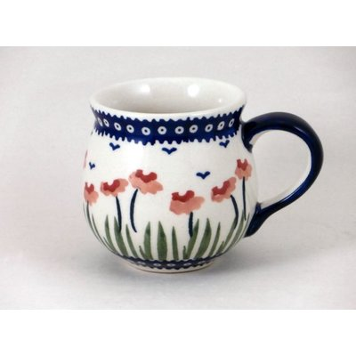 Red Poppies Bubble Mug - Sm