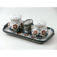 Salt & Pepper Sets w/ Tray