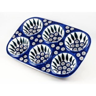 Peacock Muffin Pan