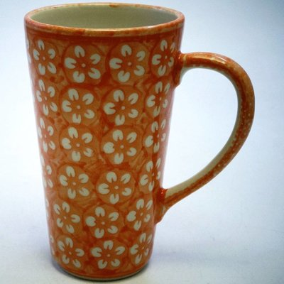 Orange Blossom Tall John Mug