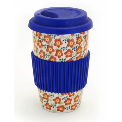 Floral Revival Travel Mug