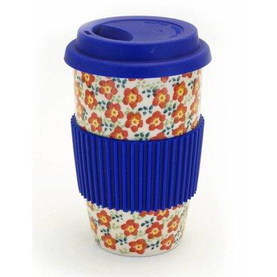 Floral Revival Travel Mug