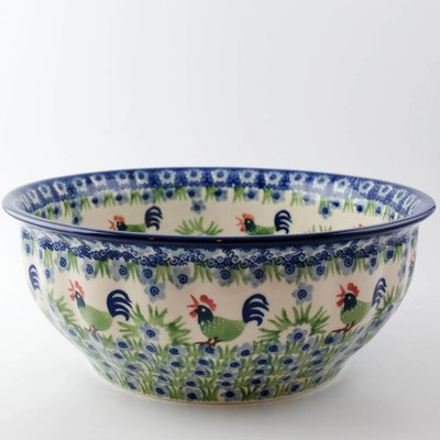 Rise & Shine Bowl F24 Fluted Serving Bowl