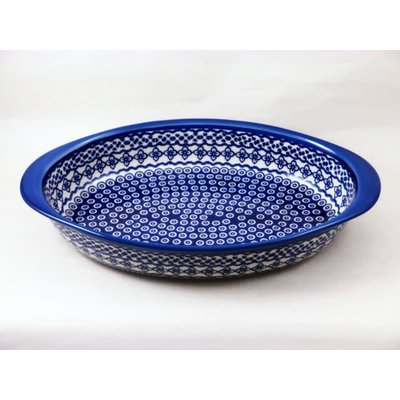 Diamond Lattice Oval Baker - Med