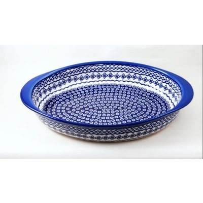Diamond Lattice Oval Baker - Lrg