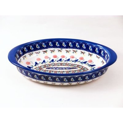 Blue Bird Oval Baker - Sm