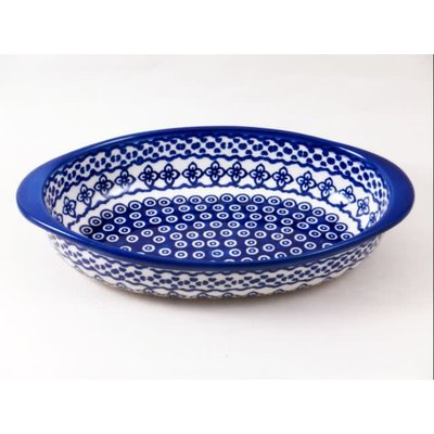 Diamond Lattice Oval Baker - Sm