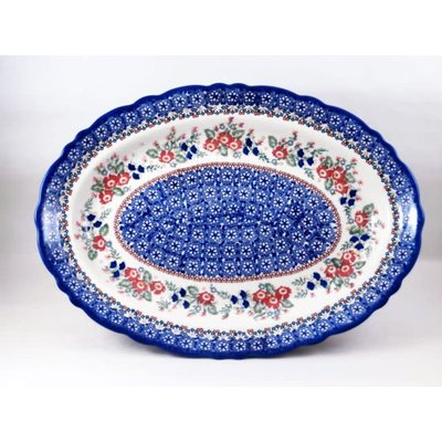 Lidia Scalloped Basia Platter