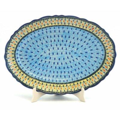 Providence Scalloped Basia Platter