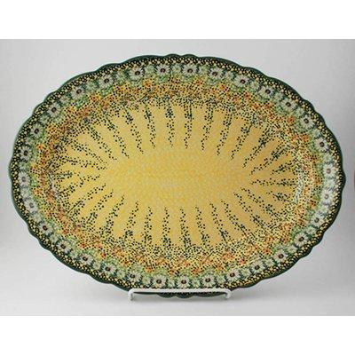 Roksana Scalloped Basia Platter