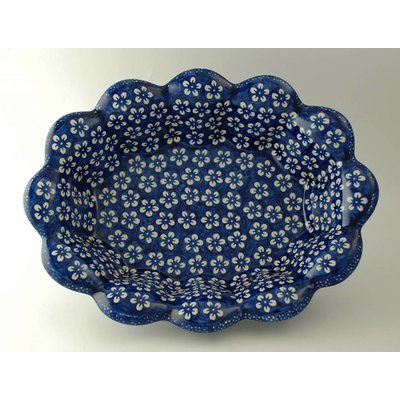 Blue Blossom Fruit Bowl