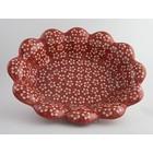 Scarlet Blossom Fruit Bowl