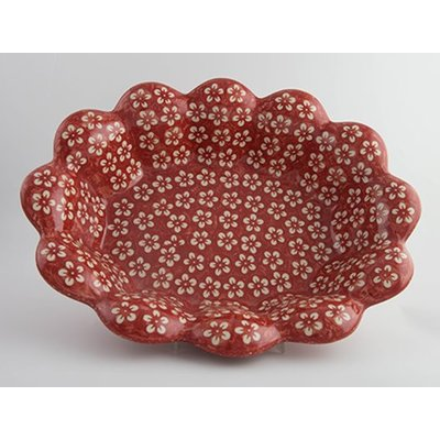 Scarlet Blossom Fruit Bowl