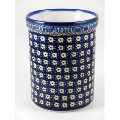 Midnight Daisy Utensil Holder