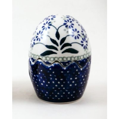Forget Me Nots Egg Puzzle Salt & Pepper