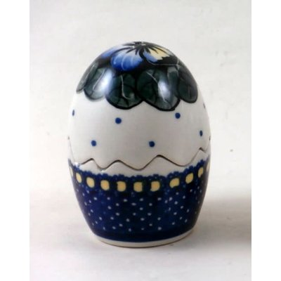 Pansies Egg Puzzle Salt & Pepper