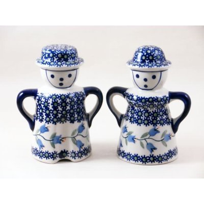 Bell Flower Man/Wo Salt & Pepper