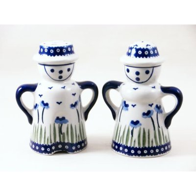Blue Poppies Man/Wo Salt & Pepper