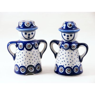 Dotted Peacock Man/Wo Salt & Pepper