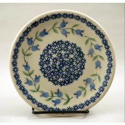 Bell Flower Bread Plate 17