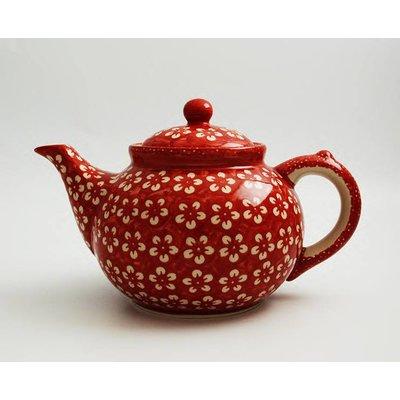Scarlet Blossom Teapot 1.5 Liter