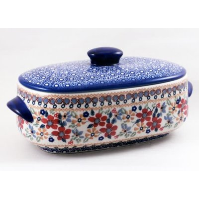 Posies Covered Casserole - Sm